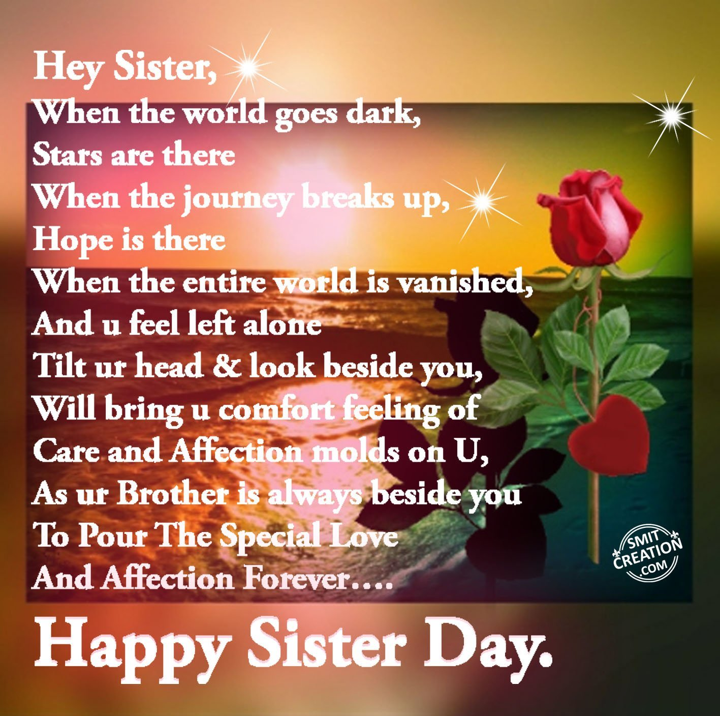 50 National Sisters Day 2018 Greeting Pictures And Images