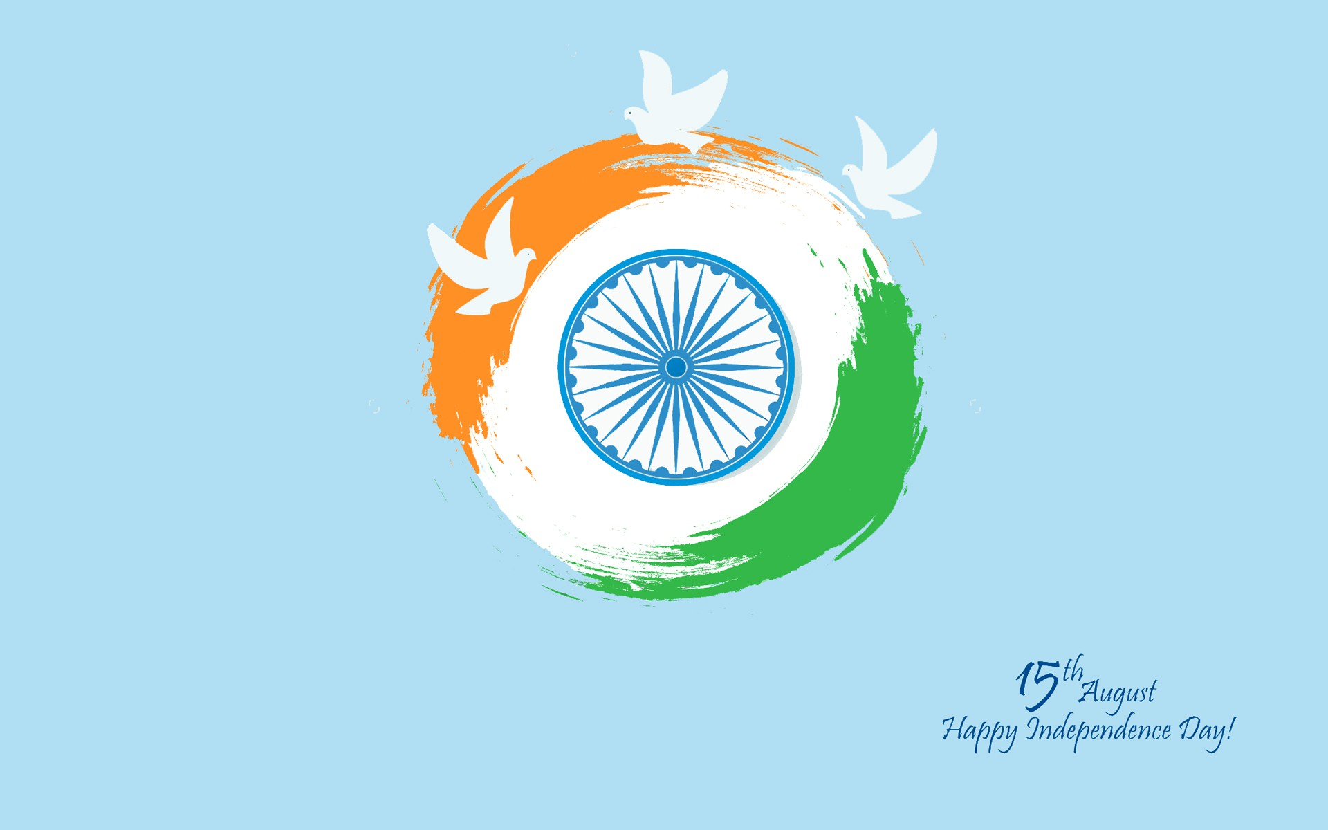15th August Happy Independence Day Wallpaper