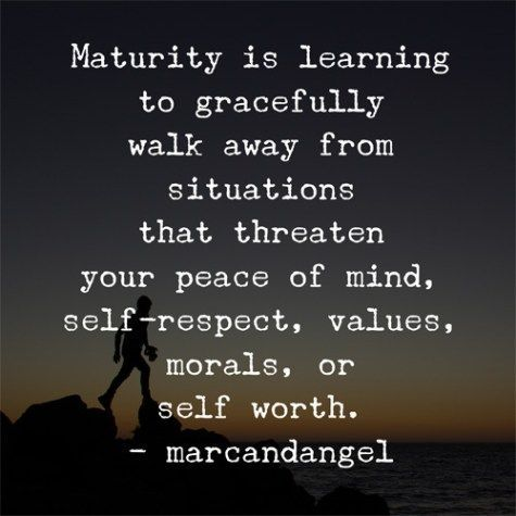 85 Best Maturity Quotes And Sayings