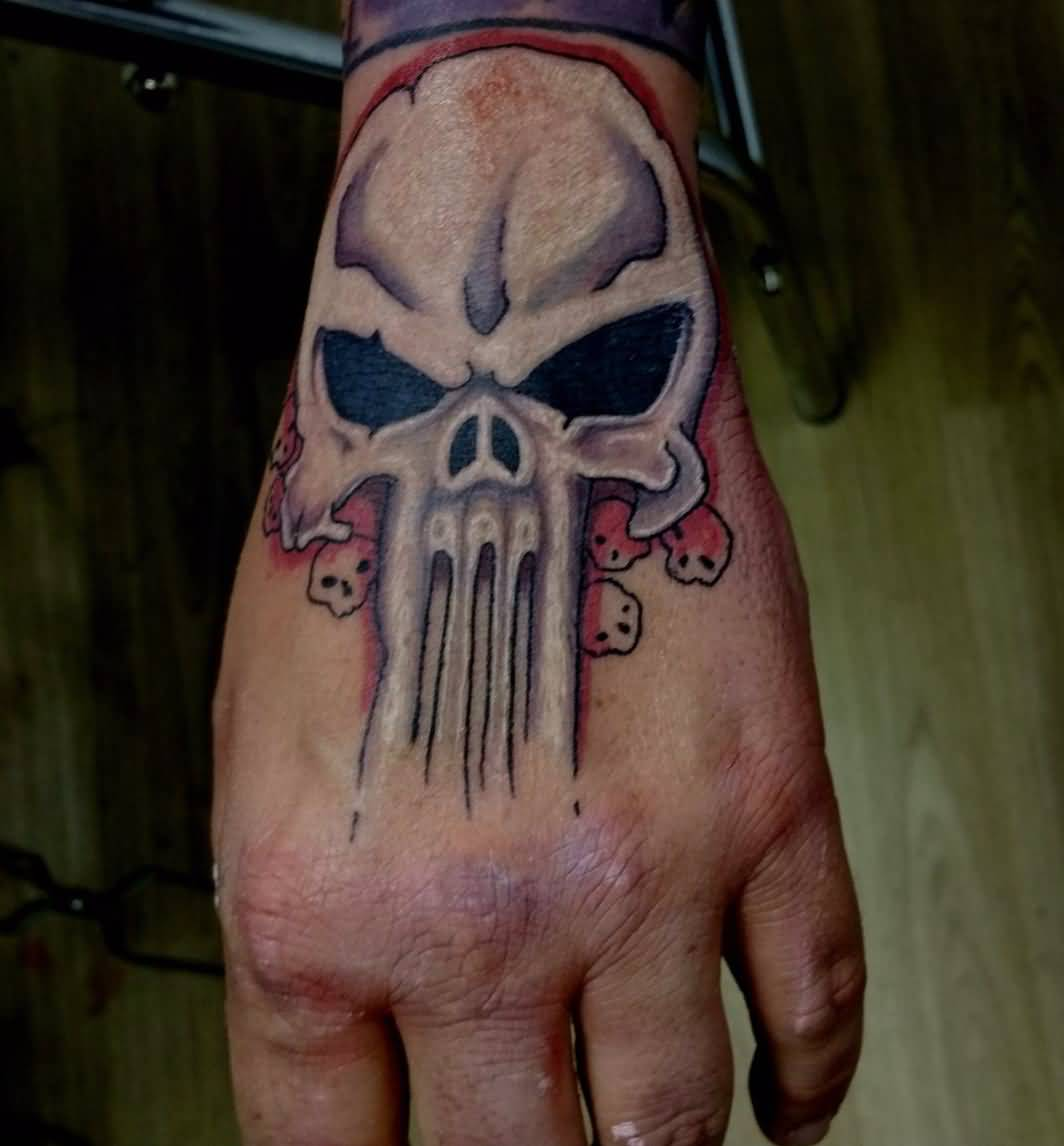 Eminem Punisher Tattoo