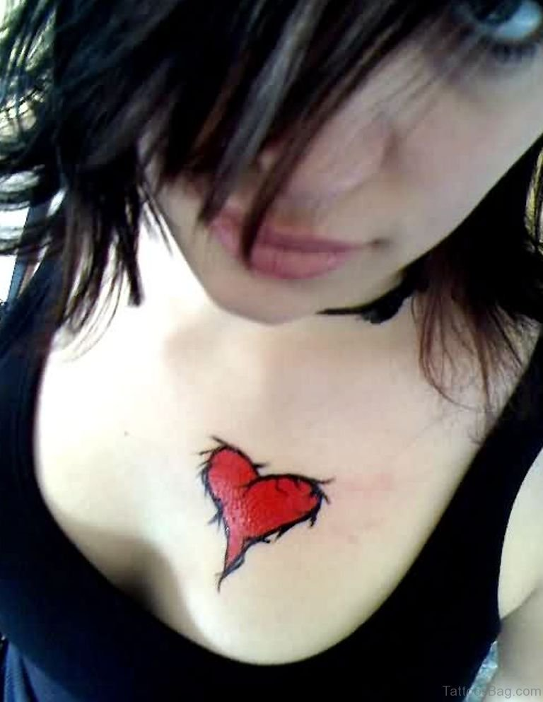 100 Broken Heart Tattoo Designs Amp Ideas