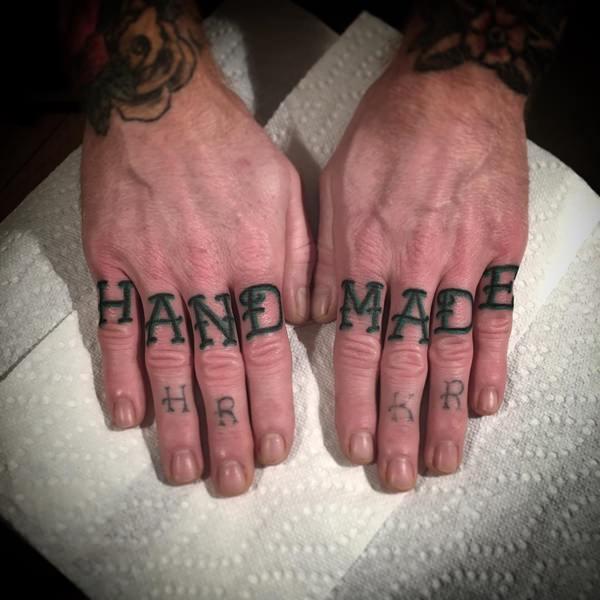 66def47b2 100 Best Knuckle Tattoos – Designs For Men & Women