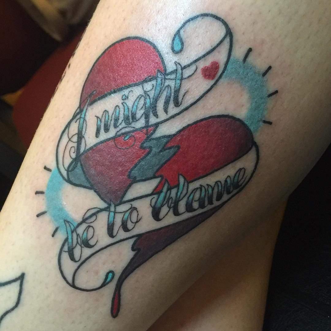 100 Broken Heart Tattoo Designs Ideas