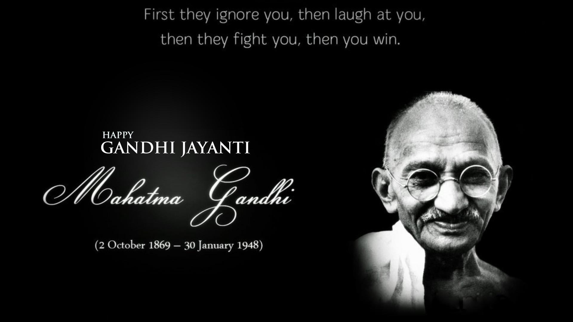 85 Best Gandhi Jayanti 2018 Wishes Picture Ideas