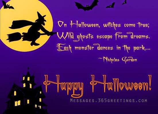 happy halloween nicholas gordon quote