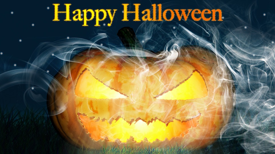 happy halloween scary pumpkin image