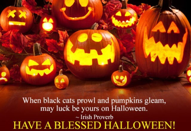 have a blessed halloween irish proverb