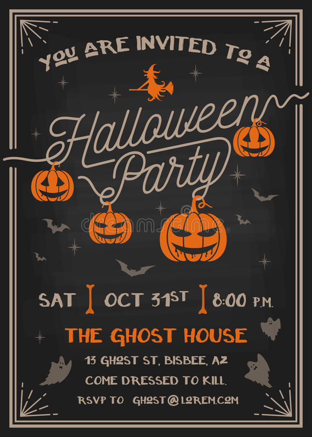 you are invited to a halloween party