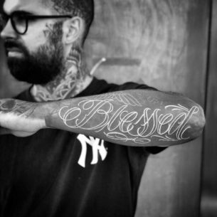 100+ Blessed Tattoos & Designs for Men