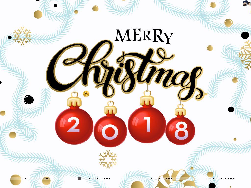 merry Christmas 2018 card
