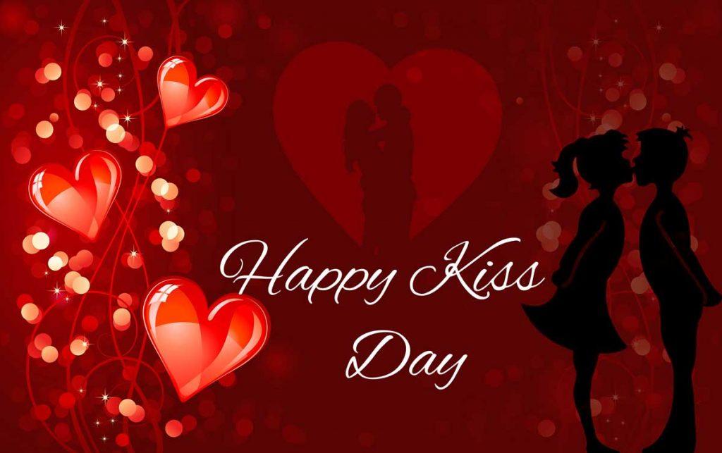 happy kiss day wallpaper happy kiss day wallpaper