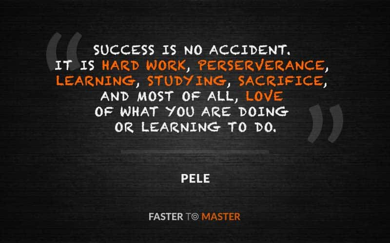 Success Is No Accident It Is Hard Work Perserverance Learning
