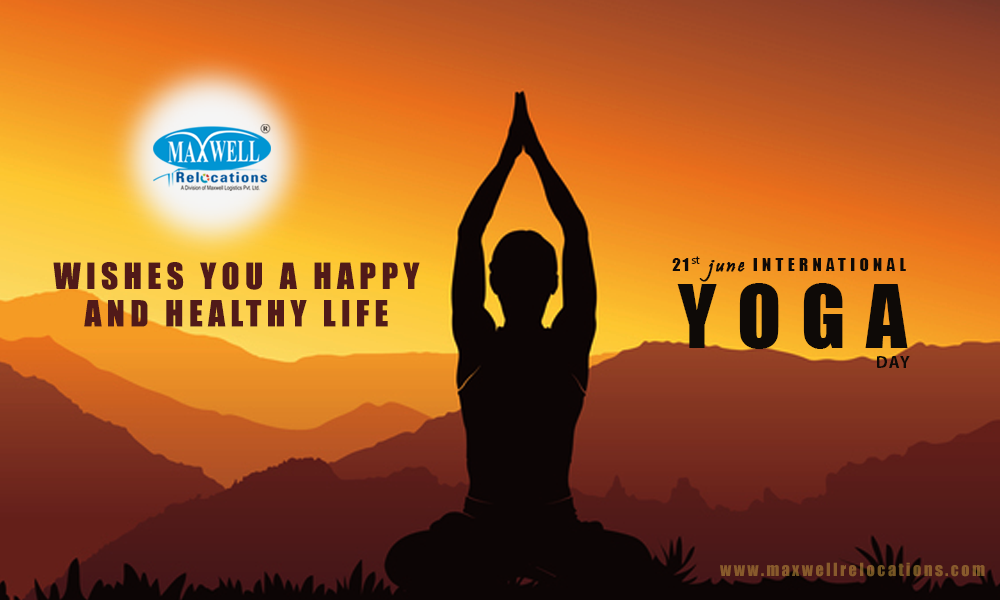 Wishes You A Happy And Healthy Life 21st June International Yoga Day