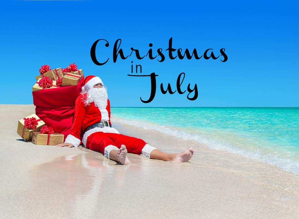 Christmas In July Santa Clipart.64 Happy Christmas In July Wish Pictures And Photos