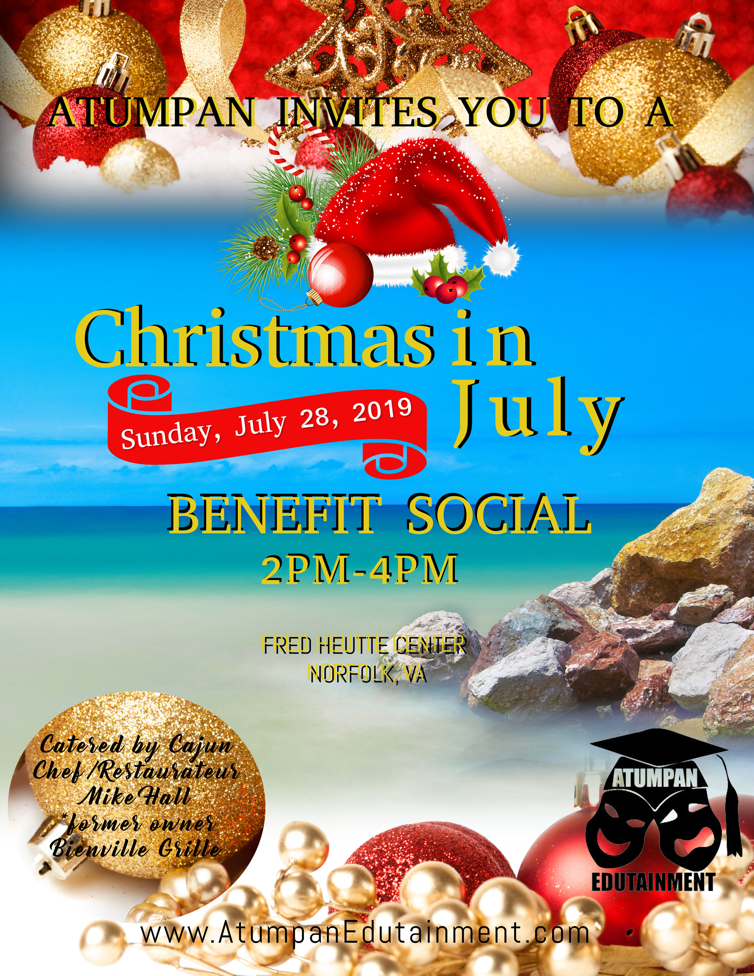 Christmas In July 2019 Images.Merry Christmas In July 2019 Wishes Poster