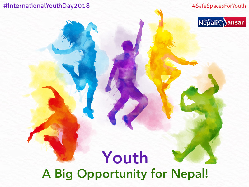 youth a big opportunity for international youth day