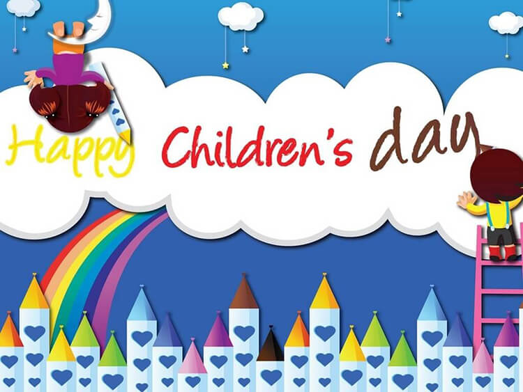 Happy Children's Day Background, Vector Illustration Royalty Free Cliparts,  Vectors, And Stock Illustration. Image 113128049.