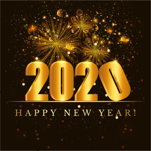 2020 happy new year greeting card askideas com